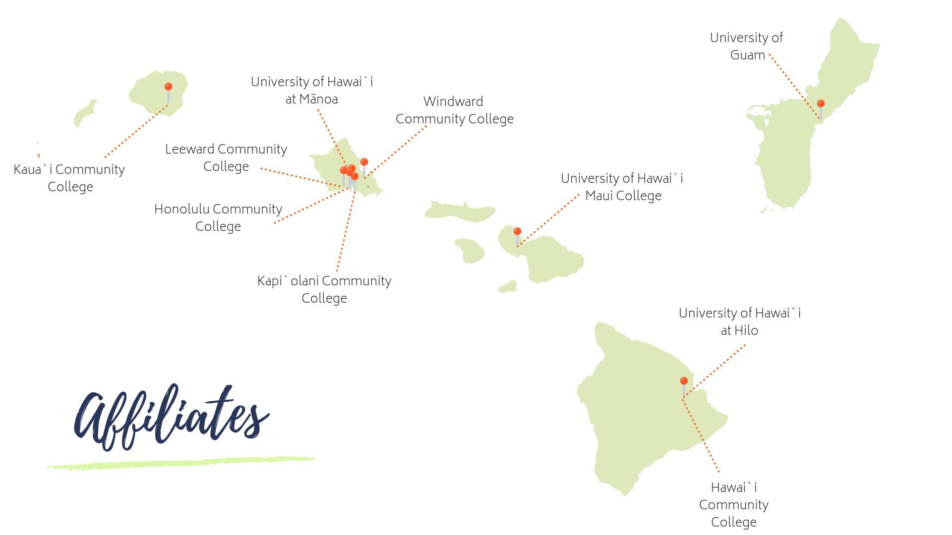 Affiliates Map