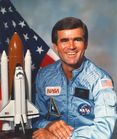Astronaut Charles Lacy Veach NASA Portrait.